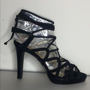"""Jessica Simpson"" Women Ankle-Tie Design Sandals"